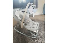 Joie foldable baby bouncer seat