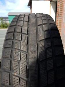 4 Used 235/65/17 Yokohama Ice Guard Winter Tires
