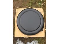Spare wheel cover for Landrover Defender etc