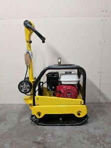 HOC - HYDRAULIC HANDLE REVERSIBLE PLATE COMPACTOR TAMPER + WHEEL KIT + 3 YEAR WARRANTY + FREE SHIPPING