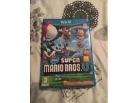 Wii U New super Mario bros u