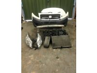 Citroen Dispatch / Scudo Front END bumper radiators slam panel headlights bonnet