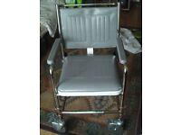 Wheelchair, Comode, Shower seat