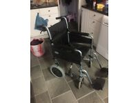 Black wheel chair