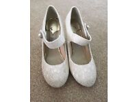 Ivory Satin Wedding/Occasional Shoes