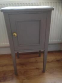 Shabby chic bedside pot cupboard