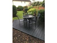 Ourdoor table and chairs