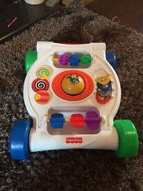 Fisher price push along walker