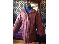 Vintage quilted puffer coat