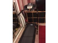 Pro Fitness Motorised Treadmill with Manual Incline