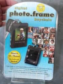 Digital phot frame keyring
