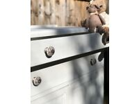 Wooden Cabinet with 2 drawers/ Storage Cupboard / Sideboard