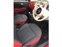 Red Colour Therapy fiat 500