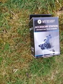 Motocaddy accessory station, brand new in box
