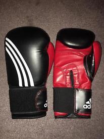 Adidas 12oz boxing gloves