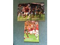 3 x FA yearbooks Football Association