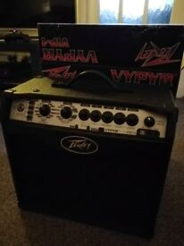Peavey VYPYR VIP 1 combo amp for electric, acoustic or bass guitar