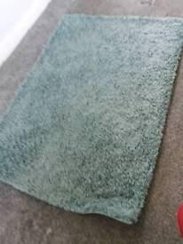 Mat shaggy rug