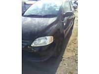 VW Fox, Bargain, perfect runabout, immaculate mechanically, cheap to run, 3 door hatchback, black