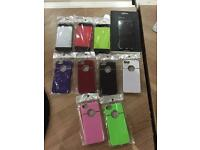 JOB LOT 10 IPHONE 5 OR 5S CASES | 10 DIFFERENT DESIGNS MIX COLLECTION BRAND NEW