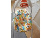 Fisher price baby swing with music