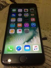 Black iPhone 6 On Vodafone fully working