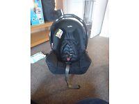 Brand new car seat