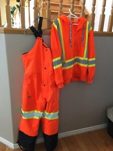 Insulated coveralls and jacket