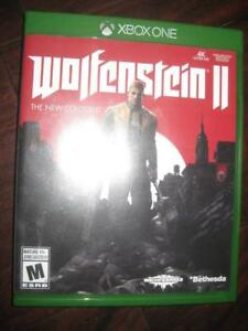 Wolfenstein II: The New Colossus For Xbox One Game System. Liberate America from Nazis. Arsenal of badass Gun. Weapon