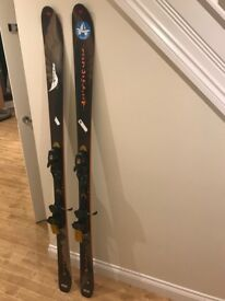 Mens Rossignol Bandit B78 Skis including Bindings