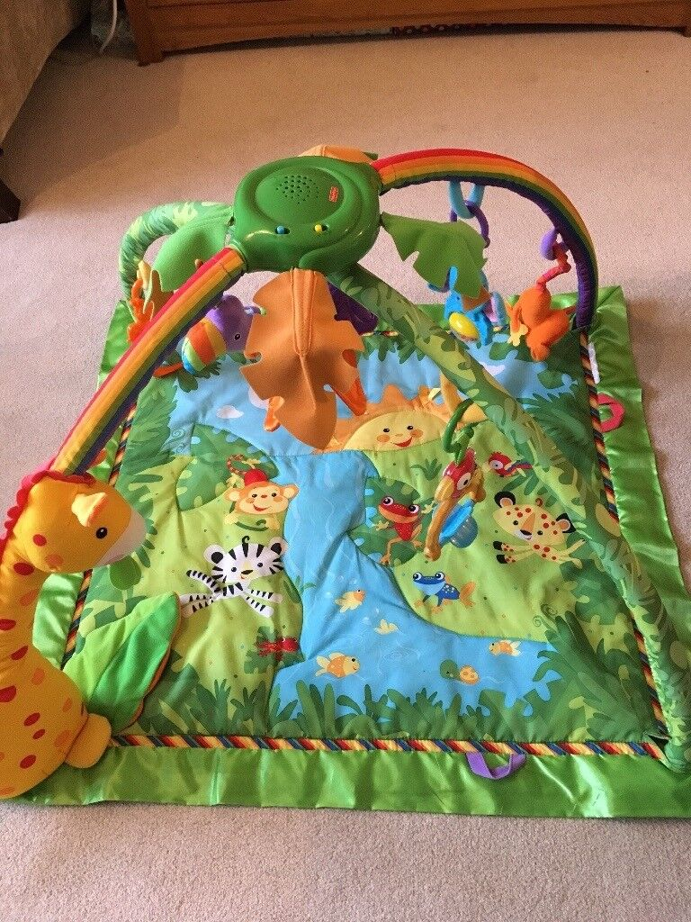 Fisher Price Rainforest Gym play mat - excellent condition