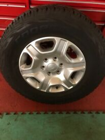 Ford Ranger Alloy wheels with Cooper A/T tyres