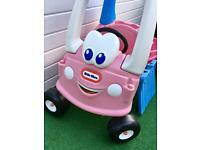 Little tikes cosy coupe with trailer