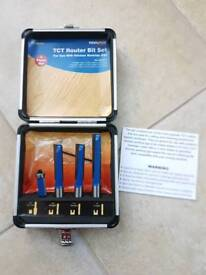 Kitchen fitters router bit set