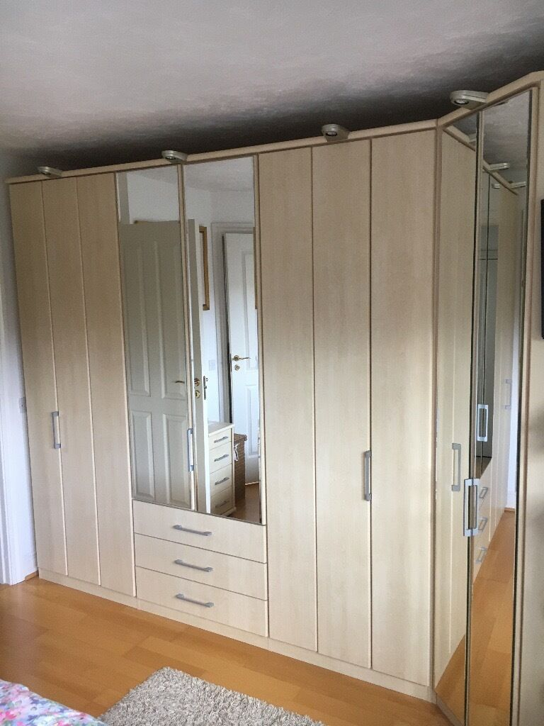 Nolte Bedroom Furniture Nolte Horizon 2000 Maple Fitted Bedroom Furniture In Bracknell