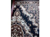 Brand-new black and gold pattern carpet forsale