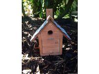 Hand made easy clean Bird nesting box
