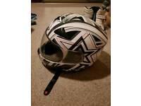 Spada helmet medium whitr