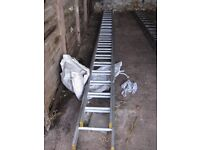 Trade Ladder Extending 2 section. 5.0m Closed, 8.8m Open. BSEN131:2007