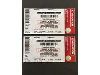 X2 Guns N' Roses Tickets STANDING Friday 16th June London Stadium