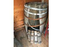 Original Cognac French Oak Barrel - Need repair