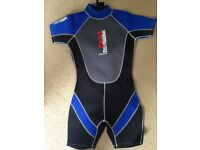 "Nalu waveware shortie wetsuit 32"" chest"