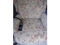 Celebrity twin motor electric riser recliner chair. CAN DELIVER rise recline adjustable mobility
