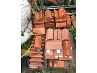 Plinth bricks , red 56 mm