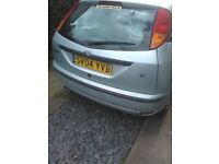 Ford focus. Selling due to illness.
