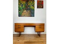 Mid-Century Teak Desk/Dressing Table by Gunther Hoffstead for Uniflex FREE LOCAL DELIVERY