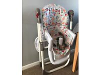 Red Kite Highchair - with all straps and tray!