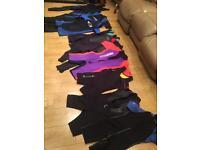 Wet suits x9