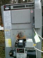 Oil furnace and tank excellent condition