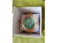 Ladies fossil gold watch